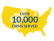 Over 10,000 Firms Served